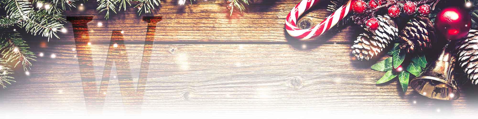 Restaurant Kerstmenu Header